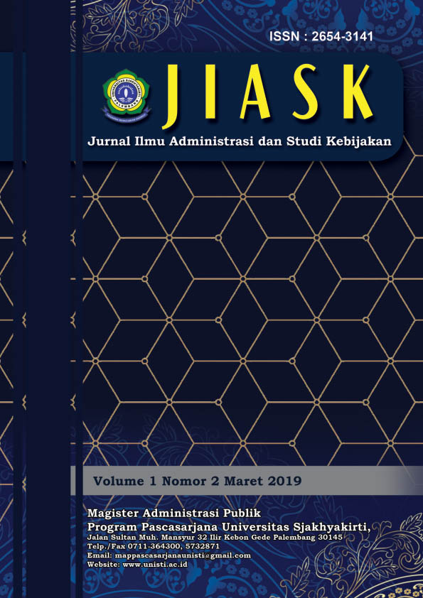 Jurnal JIASK Faisal, Jumroh  Vol 1 No 2 2019